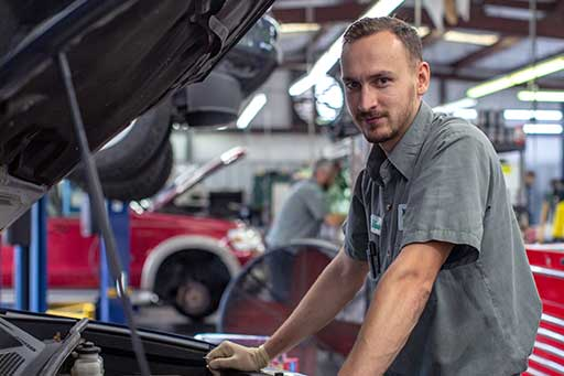 ASE certified tech at North Hills Automotive